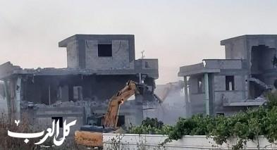 الطيرة: هدم 3 منازل بحجة البناء غير المرخص