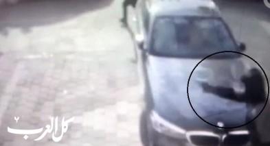 توثيق| سطو مسلح على محل للصرافة في كفر قاسم