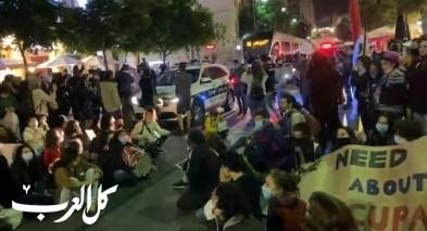 القدس: المئات يتظاهرون ضد الإعدامات الميدانية