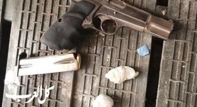 يافا: اعتقال مشتبه بحيازة أسلحة ومخدرات