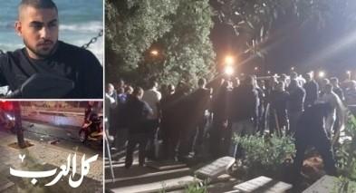 أجواء حزينة ومؤلمة خلال تشييع جثمان ابراهيم غانم