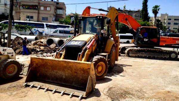 استمرار التطوير والبناء في كفر مصر