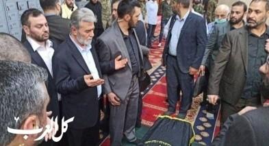 تشييع جثمان الدكتور شلّح في دمشق
