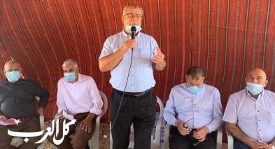 أم الفحم: وفد عن البلدية يشارك في التضامن