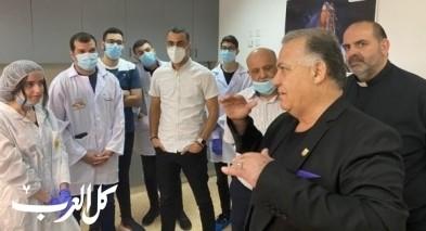 رئيس بلدية الناصرة يتفقد مركز الفضاء