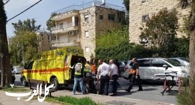 القدس: إصابة طفل إثر تعرّضه للدهس