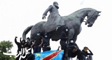 شبح فلويد يطارد تماثيل العنصرية في العالم