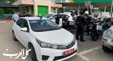 تواجد مكثّف لشرطة السير بمنطقة كفرياسيف