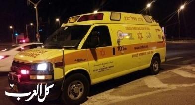 اصابة 6 اشخاص بحادث طرق على شارع 65 قرب كفار تابور