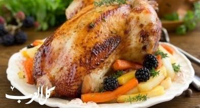 طريقة تحضير دجاج مشوي بخلطة مميزة