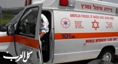 المركز: حادث طرق يسفر عن إصابة متوسطة
