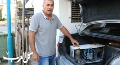 نابلسي من عرابة يخترع جهازًا يجعل محرك السيارة