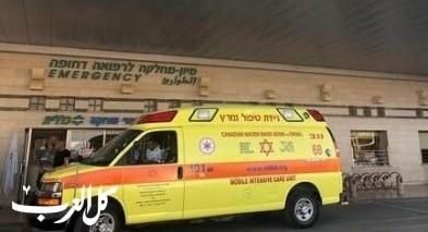 إصابتان بجراح متوسطة في حادث طرق قرب المغار