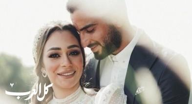 الفنان المصري محمد الشرنوبي يحتفل بزفافه