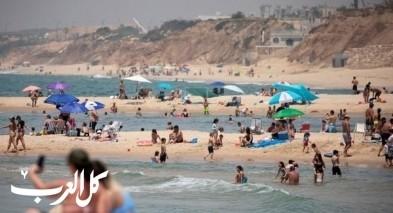 اقبال هائل على شواطئ طبريا والمركز