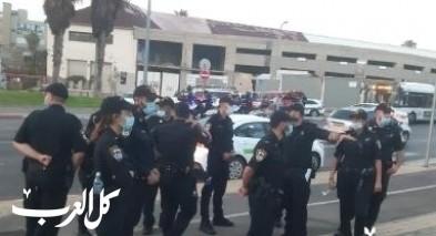 يافا| اعتقالات واسعة بشبهة تشويش عمل الشرطة