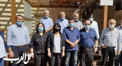 د. أورنا سمحون بزيارة ليافة الناصرة
