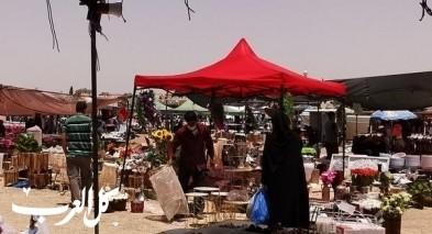 تقرير| كورونا يدّمر سوق الثلاثاء في رهط