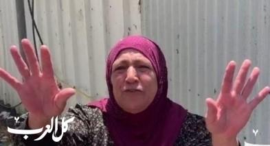 نايفة أبو سيف: أصابوا حفيدي برصاصة بالرأس