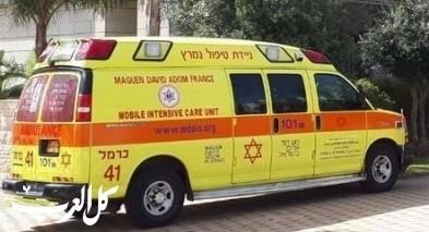 إختناق رجل (58 عامًا) خلال تناوله الطعام في حيفا
