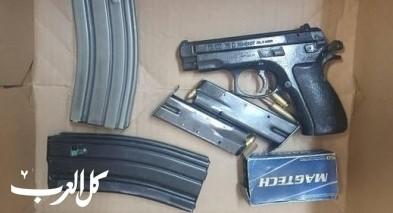 الجنوب: اعتقال مشتبه بعد ضبط سلاح غير مرخص
