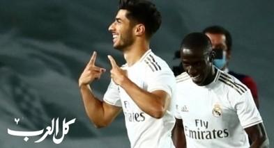 ريال مدريد يفوز على فالنسيا بثلاثية نظيفة