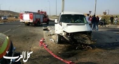 اصابة شاب (22 عامًا) بجراح خطيرة اثر حادث قرب اللقية