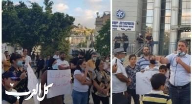 حيفا: أهالي الحليصة يتظاهرون ضد تقاعس الشرطة
