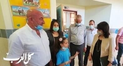 د. اورنا سمحون تزور آفاق دير الأسد