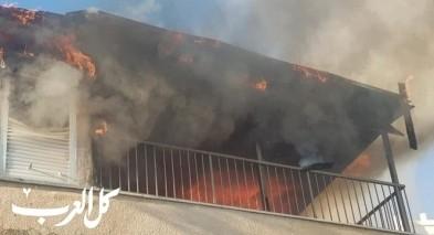 صفد: اندلاع حريق في شقة سكنية