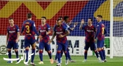 برشلونة يسعى لإستعادة صدارة الدوري الاسباني
