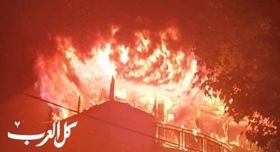 بني براك: اندلاع حريق في شقة سكنية