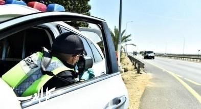 الشرطة تلغي 11 رخصة قيادة