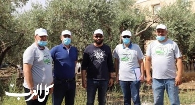 كفرقرع: حملة تنظيف في حي القطاين