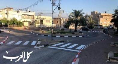تخطيط الشوارع في قرى بستان المرج