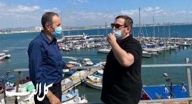 وزير السياحة يزور مدينة عكا