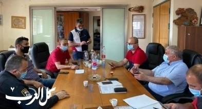 كورونا  جلسة طارئة في بلدية طمرة