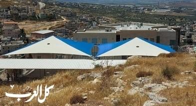 تظليل ملعب مدرسة الزهراء الإعدادية ب في كفركنا