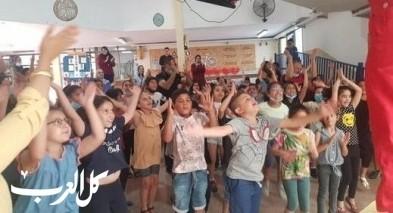 كفرقرع: إنطلاق فعاليات المخيمات الصيفية