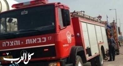 بات يام: إندلاع النيران بشقة سكنية وإنقاذ 6 اشخاص