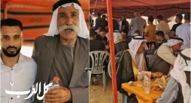الطوري يحتفل بزفاف ولده في العراقيب