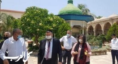 عكا| مئذنة مسجد الجزار مهددة بالسقوط