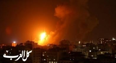 الجيش الاسرائيلي يقصف مواقعا لحماس في غزة