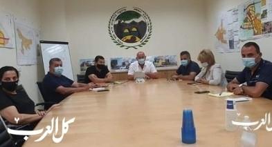 دير الأسد| إجتماع تشاوري للجنة الطوارئ