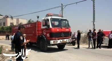 نحف: إندلاع حريق في منزل دون إصابات