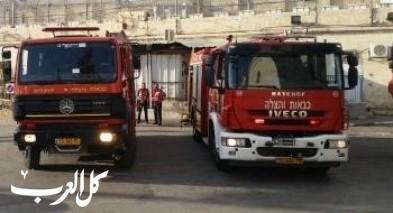 البقيعة: اندلاع حريق داخل سيارة