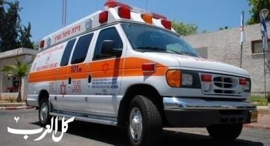 المركز: اصابة عامل خلال عمله على شاحنة