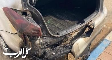 النقب: إحراق سيارة محاسب مجلس تل السبع