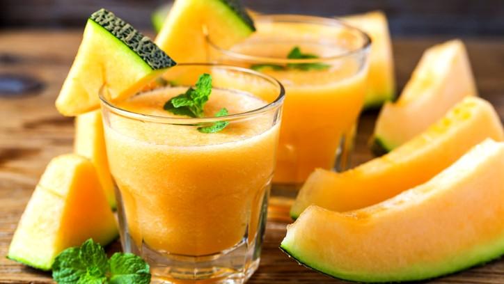 عصير الشمام المنعش.. لذيذ في الصيف