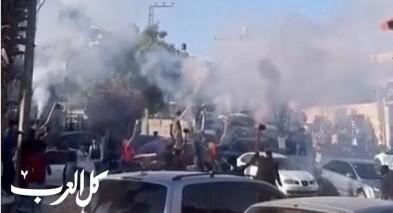 القدس الشرقية: إطلاق مفرقعات كثيف